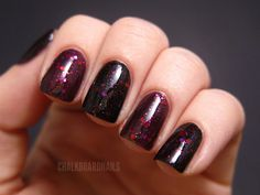 Midnight Rider by prettyandpolished on Etsy.