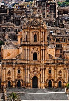 Modica San Giorgio cathedral, Sicily