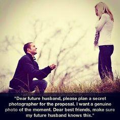 futur husband, future husband, the proposal