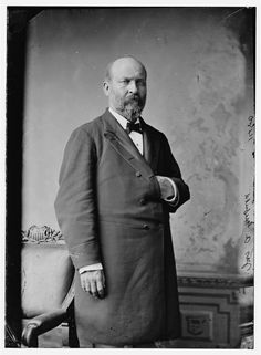 President James Garfield. Brady-Handy Collection photograph, between 1870 and 1880.