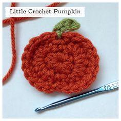 Little Crochet Pumpkin tutorial with photos