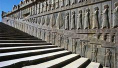 The stairs of Apadana Palace