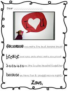 Valentine Note Freebie