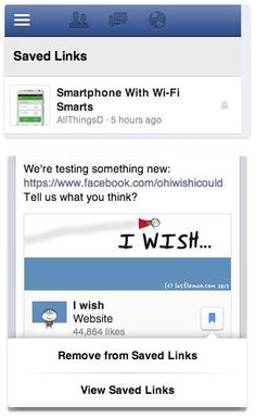 """Facebook Quietly Testing New """"Save For Later Reading"""" Feature"""