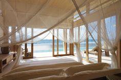 Beachside Room at the Six Senses Con Dao -- Con Son Island, Vietnam