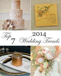 top 7 wedding trends for 2014 #wedding #trends #2014