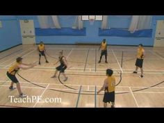 Basketball Drill - Passing - Monkey In the Middle