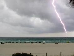 Still from vid shot from Nautical Watch Condos about 9:30am: Video taken by Cathy Palmer