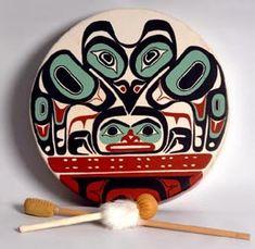 Tlingit drum.