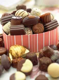 Chocolate Candy Truffles....if you know how to convert the measurements