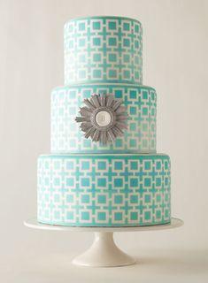 Modern Wedding Cakes | Brides.com