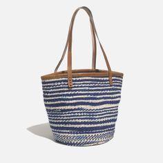 bamboula ltd. x madewell woven shoulder bag at madewell.com