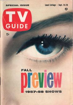 Fall Preview 1957-58 Shows  September 14-20 1957