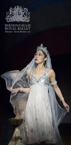 Birmingham Royal Ballet - Aladdin; Nao Sakuma as Princess Badr al-Badur; photo: Bill Cooper