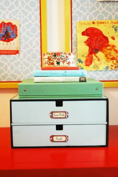 Paint & decorate simple storage boxes
