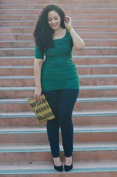 Plus Size Fashion via girlwithcurves.tu...