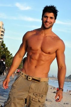 bracelet, short, eye candi, beaches, summer styles, sexi, hot guy, boy, hot men