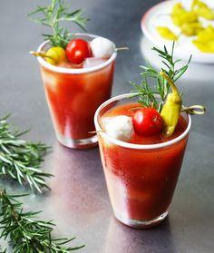 Roasted Garlic Bloody Mary