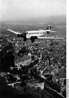 JUNKER 52  Hitler's personal plane over southern Germany 1938