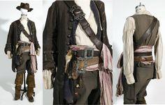 full jack sparrow costume