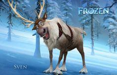 Meet Sven from Disney's Frozen.