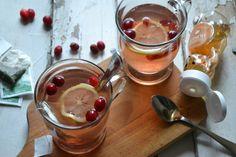 Cranberry Green Tea Hot Toddy