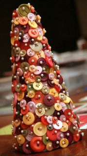 DIY button tree @Susan Caron Caron Epps @Amy Lyons Lyons Epps