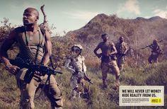 child soldier, print ads, soldiers, amnesty international, intern franc, children, france, prints, amnesti intern