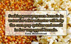 How to make corn pop quicker