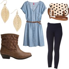 """Bluesy Church Outfit"" by abbhatch on Polyvore"