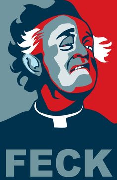 Father Ted's Father Jack -FECK by gtgauvin.deviantart.com