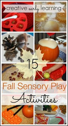 fall learning and sensory play activities collection