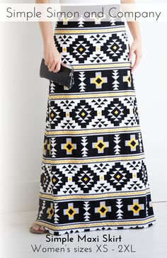 Simple Maxi Skirt PD