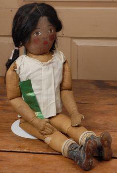 Black Babyland Rag Doll