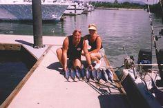 Chef Jim and his wife, Carole, fishing in Mexico! meet chef, chef jim