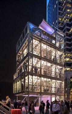 Cellophane House at MoMA - KieranTimberlake
