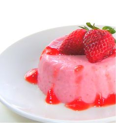 One Perfect Bite: Strawberry Panna Cotta with Strawberry Compote