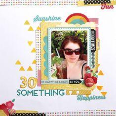 30 Something - Scrapbook.com - Scrapbook your own birthday!