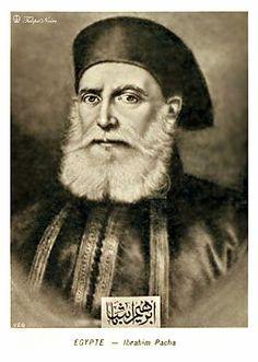 Ibrahim Pasha Portrait (1789 - 1848).