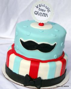 cakes on pinterest mustache cake mustache baby showers and boy baby