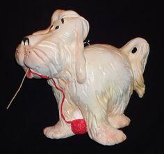 """Vintage Dennis the Menace's Dog """"Ruff"""" String Holder"""