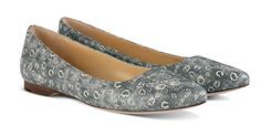 6 Essential Items for an Early Spring Wardrobe By Cole Haan, these lizard print shoes are a great neutral with texture, and more unexpected than snakeskin.