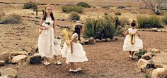 Flower girl dresses and shoes from www.adorablebabyclothing.com #wedding #flowergirl