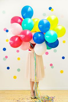 .Balloons for party decoration