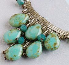 necklac, free bead, earring, cairo collar, bead project, beading projects