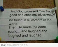 God has a good/bad sense of humor.