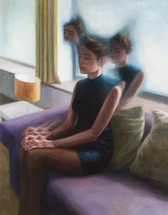 Deenesh Ghyczy- Thought-Provoking Paintings of Out-of-Body Experiences  http://dghyczy.com/