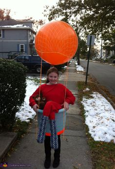 Hot Air Ballonist, Halloween costume