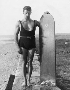 Nigel Oxenden, Britain's first surf club founder 1923