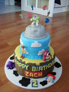 Toy Story 3 cake-love it!